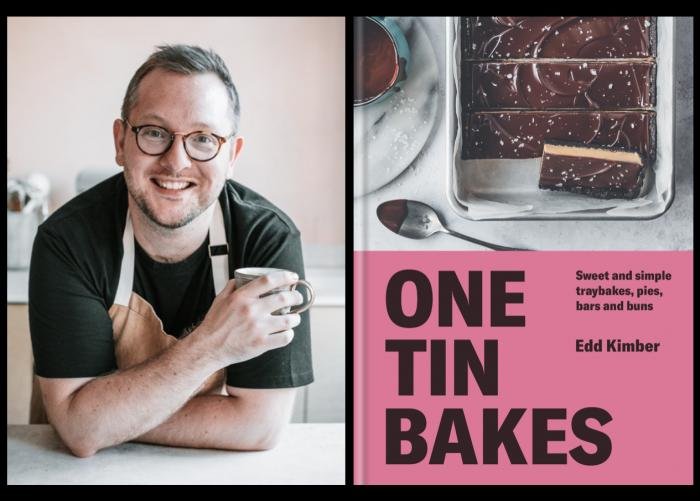 "Edd Kimber, author of ""One Tin Bakes"""
