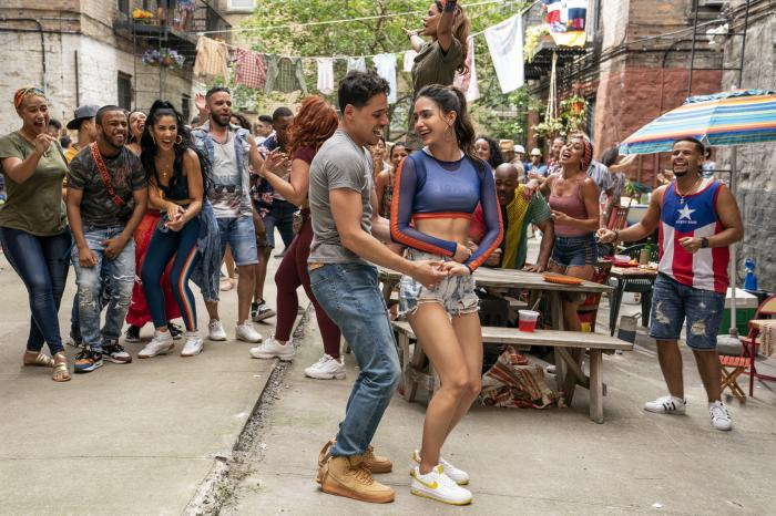 """A scene from the upcoming film """"In the Heights."""""""