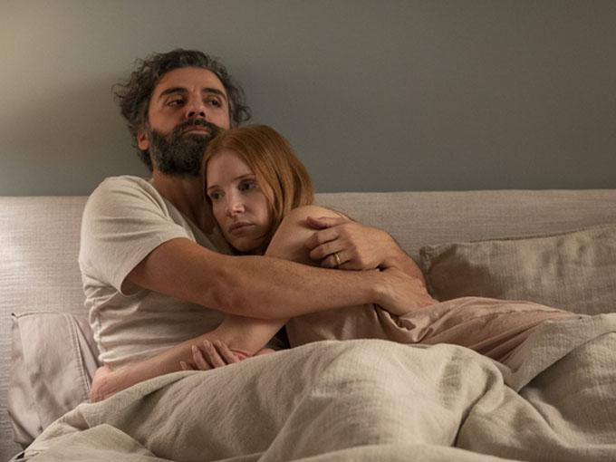 Oscar Isaac and Jessica Chastain in 'Scenes from a Marriage'