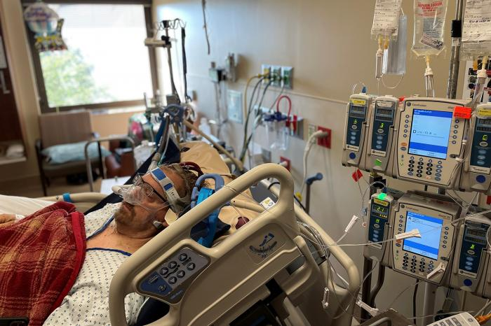 Joe Gammon has been receiving ECMO therapy at Ascension Saint Thomas Hospital in Nashville, Tennessee, since mid-August.