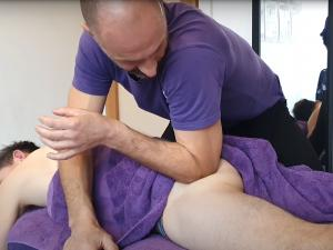 Watch: Melbourne Muscular Therapies Seduces with Gratuitous Glute Massage